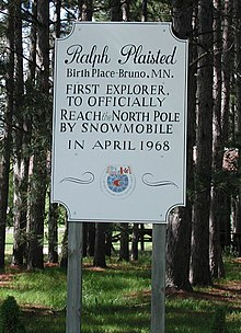 Ralph Plaisted birthplace sign.jpg