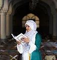 Ramadan 1439 AH, Qur'an reading at Jameh Mosque of Sanandaj - 17 May 2018 10.jpg
