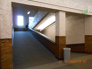 South High School (Salt Lake City) - Inside South High School