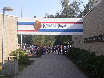 Ramstein Royals front sign
