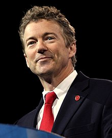 Rand paul au CPAC à Washington en Mars 2013.