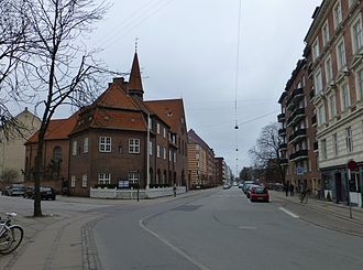 Randersgade - Randersgade viewed from Nordre Frihavnsgadfe