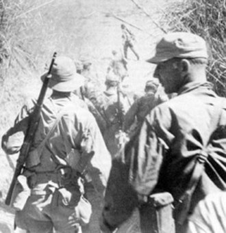 United States Army Rangers - Rangers en route to liberate allied soldiers in the Cabanatuan POW camp