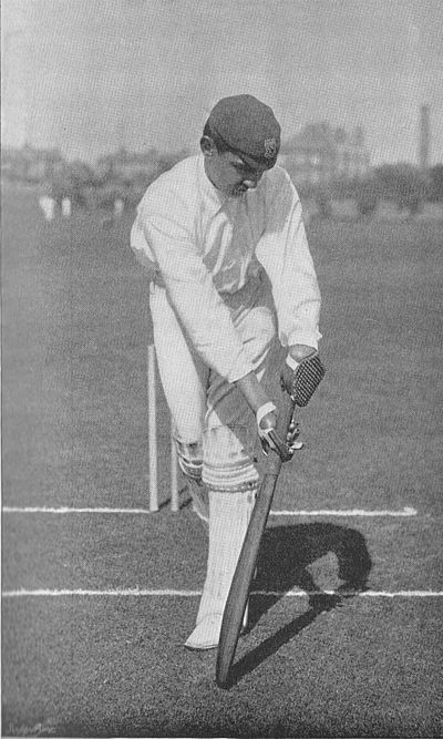 Ranji 1897 page 207 K. S. Ranjitsinhji glance-playing forward.jpg