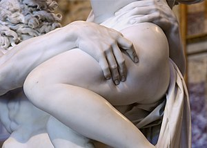 The Rape of Proserpina - Detail of the sculpture
