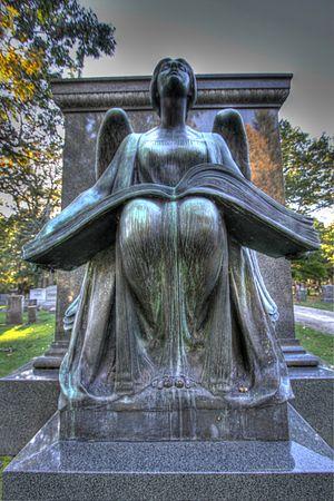 Lorado Taft - The Recording Angel, 1923