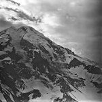 Redoubt Volcano, mountain glacier with icefall and bergschrund, September 4, 1977 (GLACIERS 6753).jpg