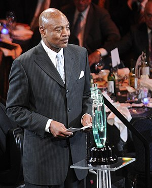 Reggie Rucker - Rucker at the 2011 Greater Cleveland Sports Awards