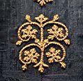 Regione del reno o della mosa, mantello detto di san bernardo, 1150-1200 ca. 03.jpg