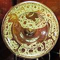 Regione valenciana o catalogna, piatto a lustro metallico, 1525-75 ca..JPG