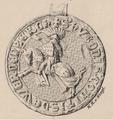 Reitersiegel des Hugo Graf Werdenberg von 1320.png