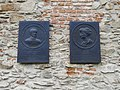 Reliefs by László Kodolányi, Jurisics and Suleiman, Castle of Kőszeg.jpg