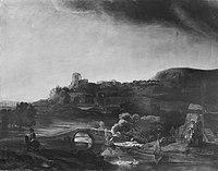 Rembrandt (Harmensz. van Rijn) (Kopie nach) - Kasseler Landschaft - 12018 - Bavarian State Painting Collections.jpg