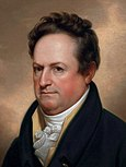 Rembrandt Peale's portrait of DeWitt Clinton 1812 cropped