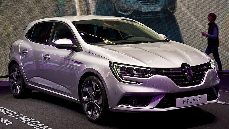 File:Renault Mégane (IV) – Frontansicht, 19. September 2015, Frankfurt.jpg
