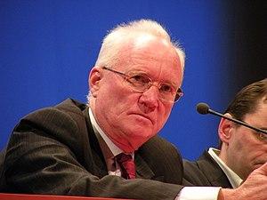 Edmond Hervé - Edmond Hervé during « Forum Libération 2010 » in Rennes