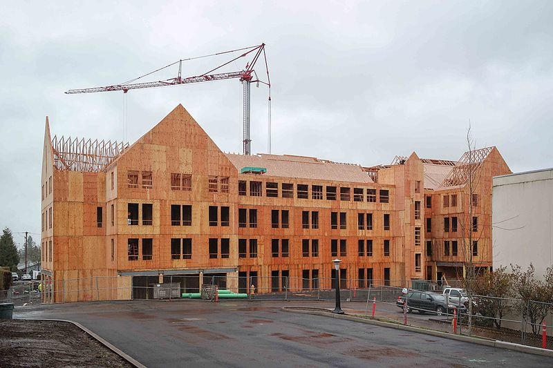 File:Residence Hall Construction.jpg
