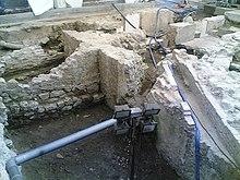 Resti della muraglia del XII secolo