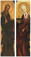 St. Matthias (or St. James) and St. Hedwige (or St. Elizabeth or St. Clare)