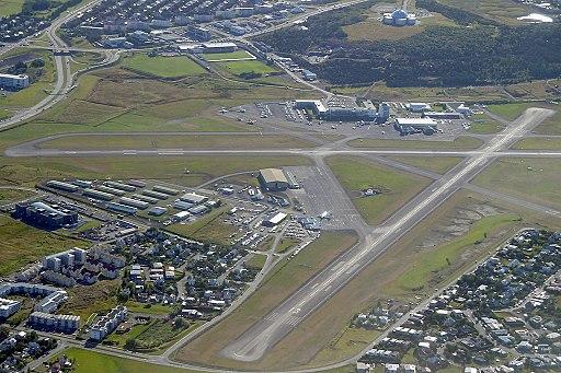 Reykjavik Airport aerial