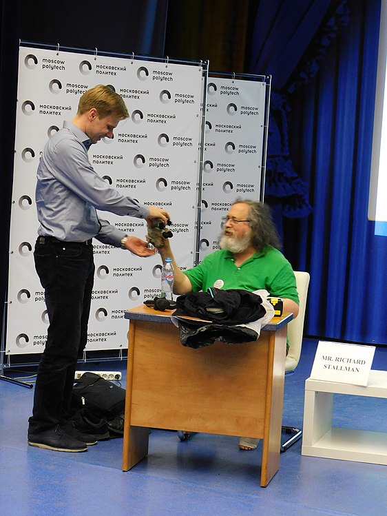 Richard Stallman in Moscow, 2019 158.jpg