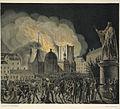 Riddarholmskyrkans brand 1835, litografi av Anders Lundquist.jpg