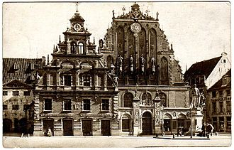 House of the Blackheads (Riga) - Early 20th century