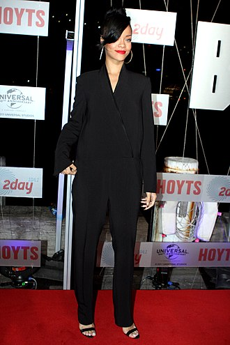 Jumpsuit - Singer Rihanna in a fashion jumpsuit in 2012