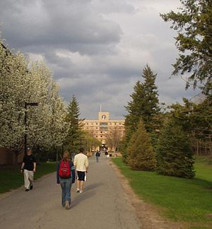 Rochester Institute of Technology - RIT's Quarter Mile walkway