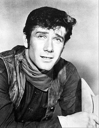 Robert Fuller (actor) - Fuller as Cooper Smith in Wagon Train