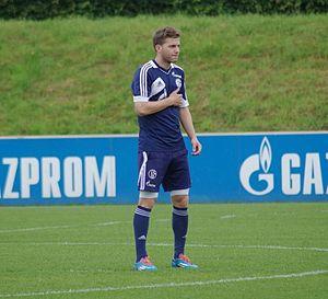 Robert Leipertz - Leipertz training with Schalke 04 II in 2014