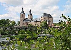 Rochlitz Castle - Rochlitz Castle from the southeast