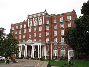 Hotel Charlottetown - The Hotel Charlottetown seen in October 2012.