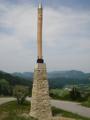 Rodnover Perun idol in Šentjur, Slovenia.png