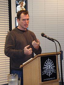 Rolf Potts at Book Passage in 2008.jpg