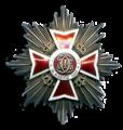 Romanian Kruunuritarikunnan suurristin rintatähti1932.png