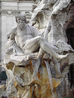 Classicism - Fountain of the Four Rivers, Bernini, 1651.