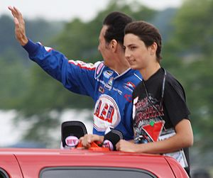 Ron Fellows - Fellows at Road America in 2012 with his youngest son