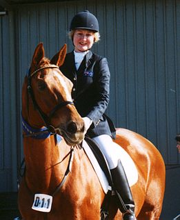 Rosalie Fahey Paralympic equestrian competitor of Australia