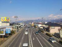 Route 18 Nagano BP outbound, Yanagihara, Nagano.jpg