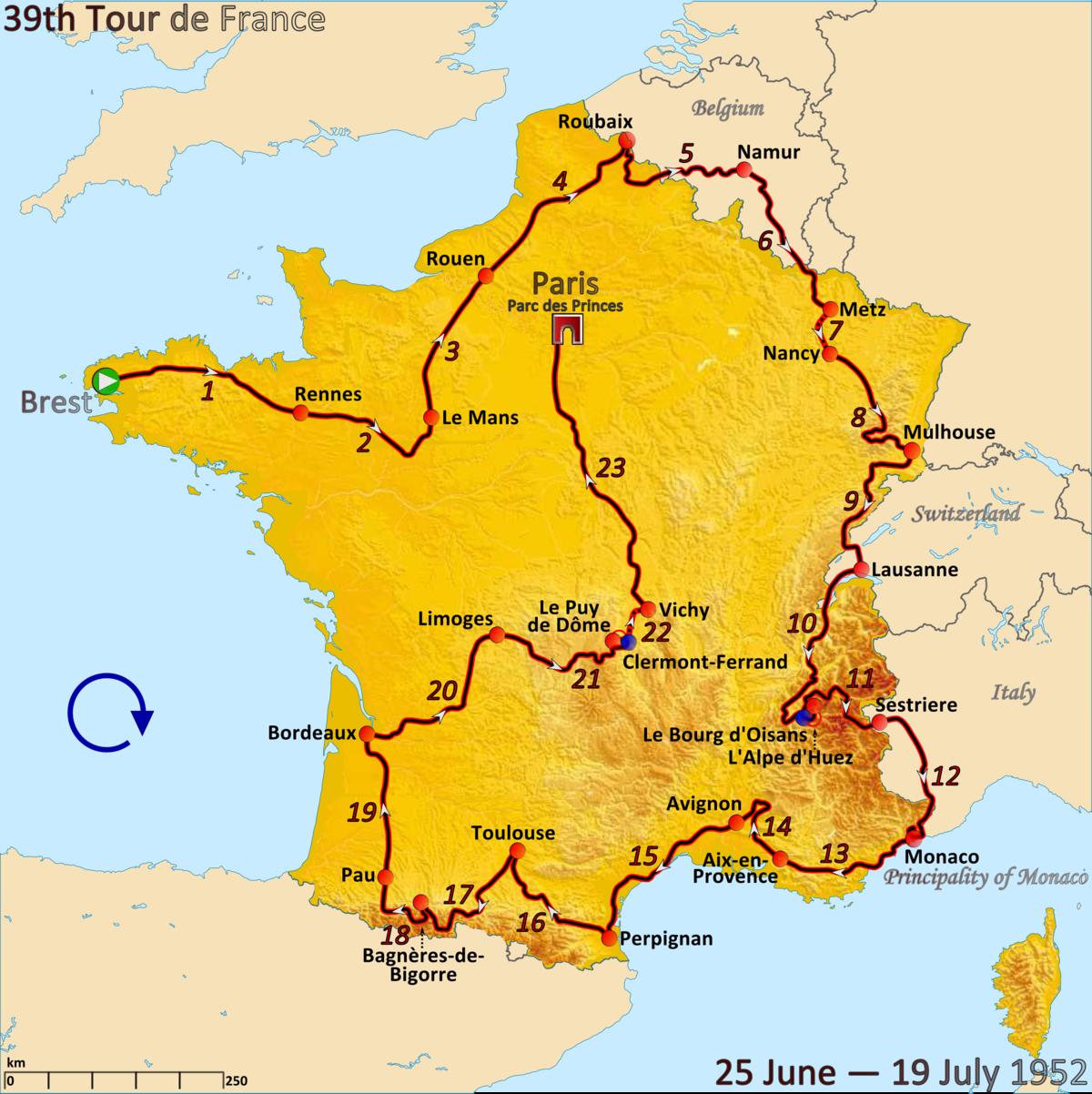 1952 Tour De France