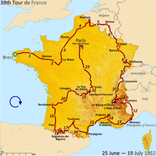 1952 Tour de France cycling race