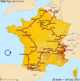 1963 Tour de France cycling race