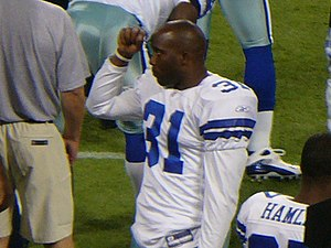 Roy Williams (safety) - Williams while playing for the Dallas Cowboys in 2008.