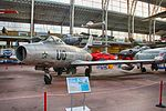 Royal Military Museum, Brussels - Dassault MD-450 Ouragan (11449016786).jpg