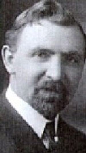 Elsie Paroubek - Rudolf Jaromír Pšenka, Czech author and playwright, editor of the Chicago Daily Svornost (Concord) from 1909 until his death in 1939.