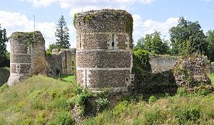 Château d'Harcourt - Old keeps