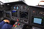 Russian Air Force Kamov Ka-52 cockpit (19604206626).jpg
