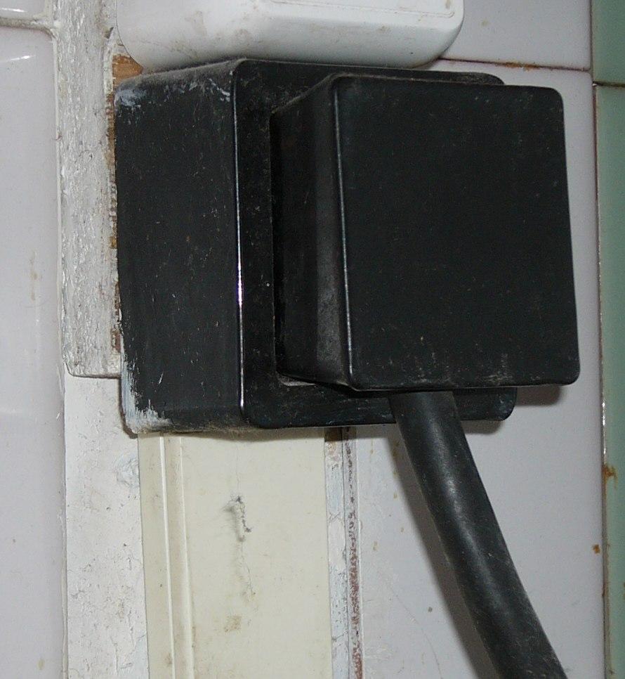 Russian stove plug and socket