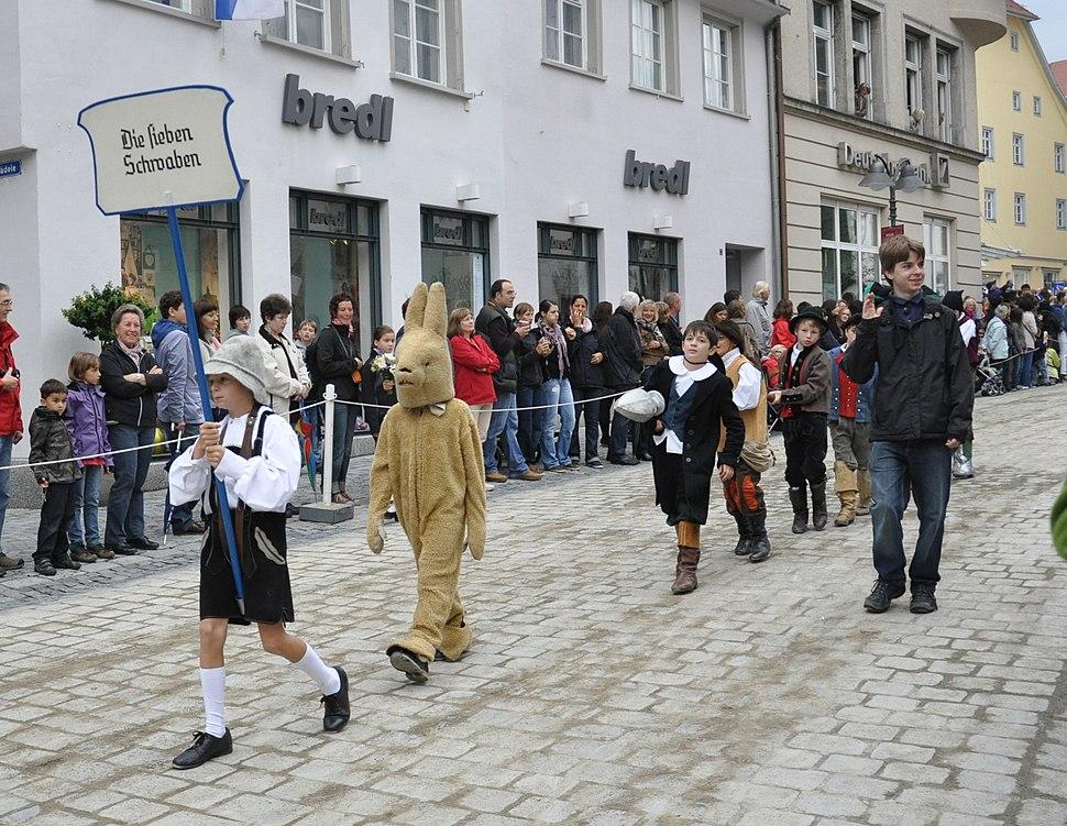 Rutenfest 2011 Festzug Sieben Schwaben 1